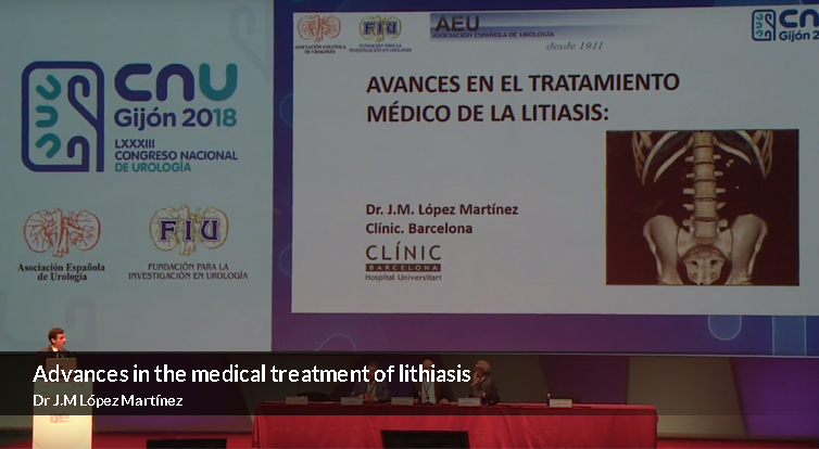 Advances in the medical treatment of lithiasis